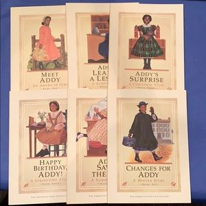 Vintage First Edition American Girl Addy Set